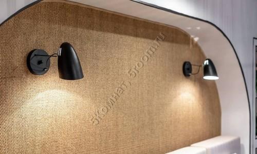 Фото №16 декор стены из сизаля
