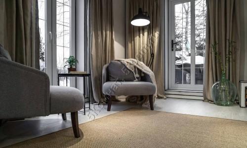 Фото интерьера №7 с ковром из сизаля 1,97 м х 2,7 м