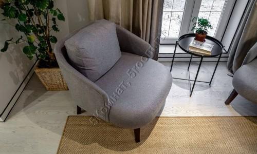 Фото интерьера №9 с ковром из сизаля 1,97 м х 2,7 м