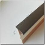 Плинтус под ковролин, темно-коричневый, 2.5 м