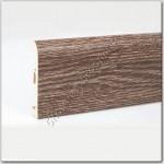 Плинтус ПВХ 80 мм, дуб арденский, 2.5 м