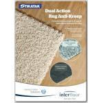 Подложка для ковролина Interfoor Tikatak Dual Action Rug Anti-Kreep, 4 мм